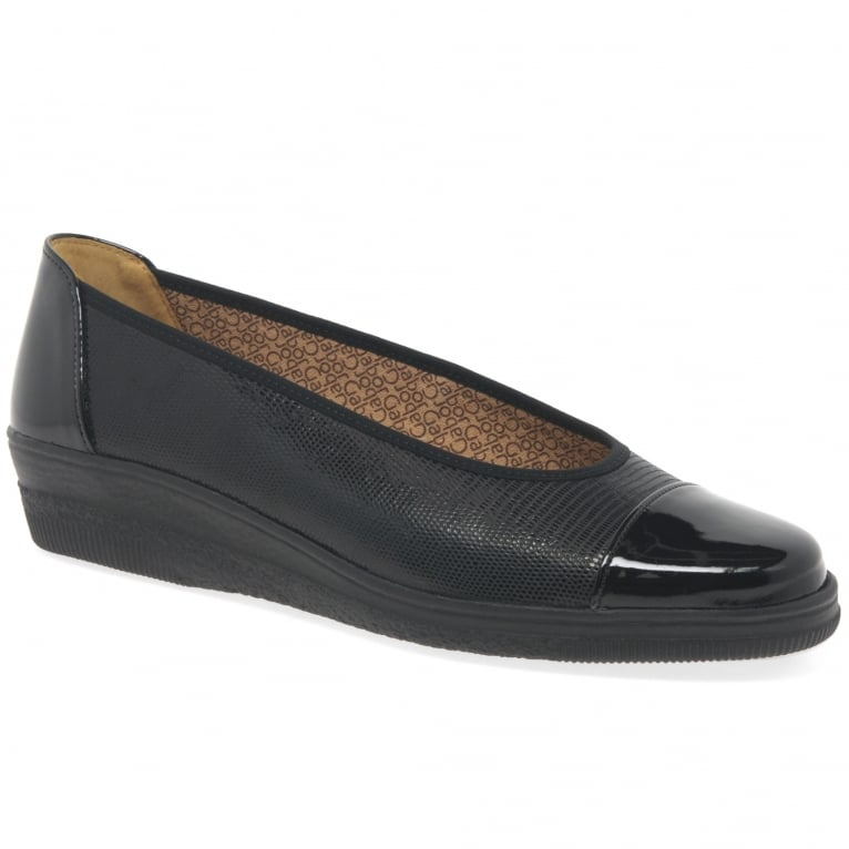 Petunia Wide Fit Ladies Pumps