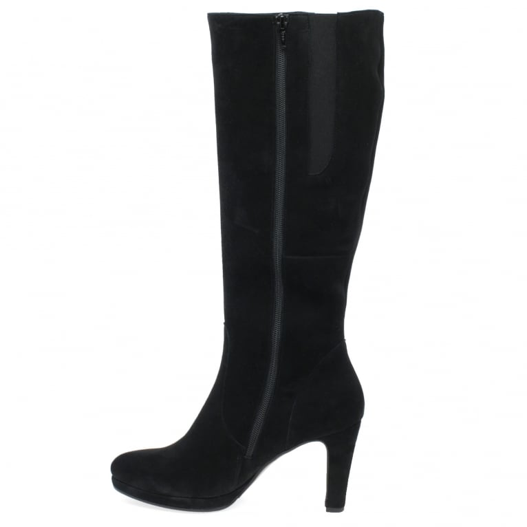 Gabor Drama Womens Long Boots - Women's