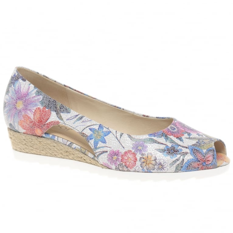 Gabor Roseford Ladies Peep Toe Wedges