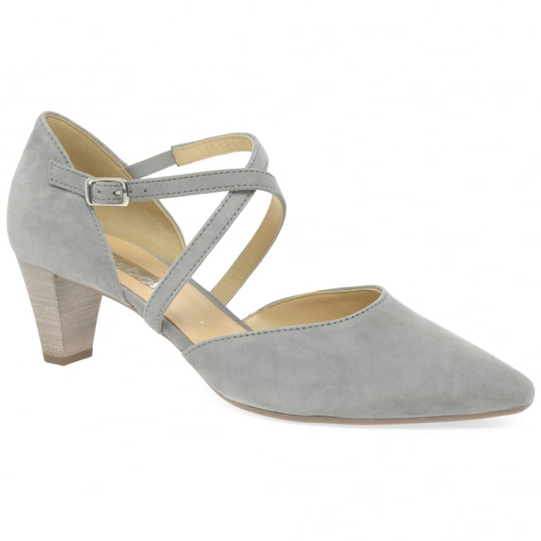 Callow Womens Modern Cross Strap Court Shoes