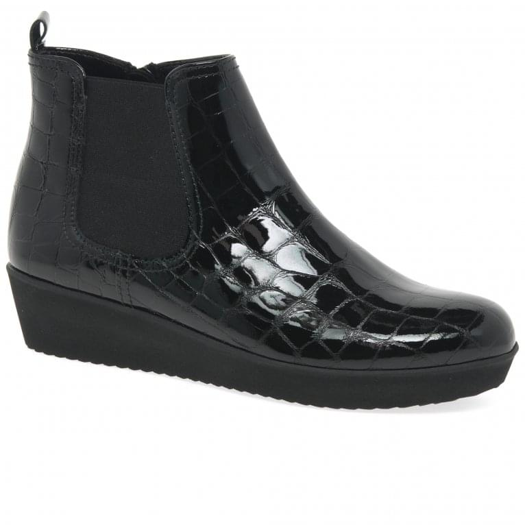 Gabor Ghost |Wedged Ankle Boots | Gabor