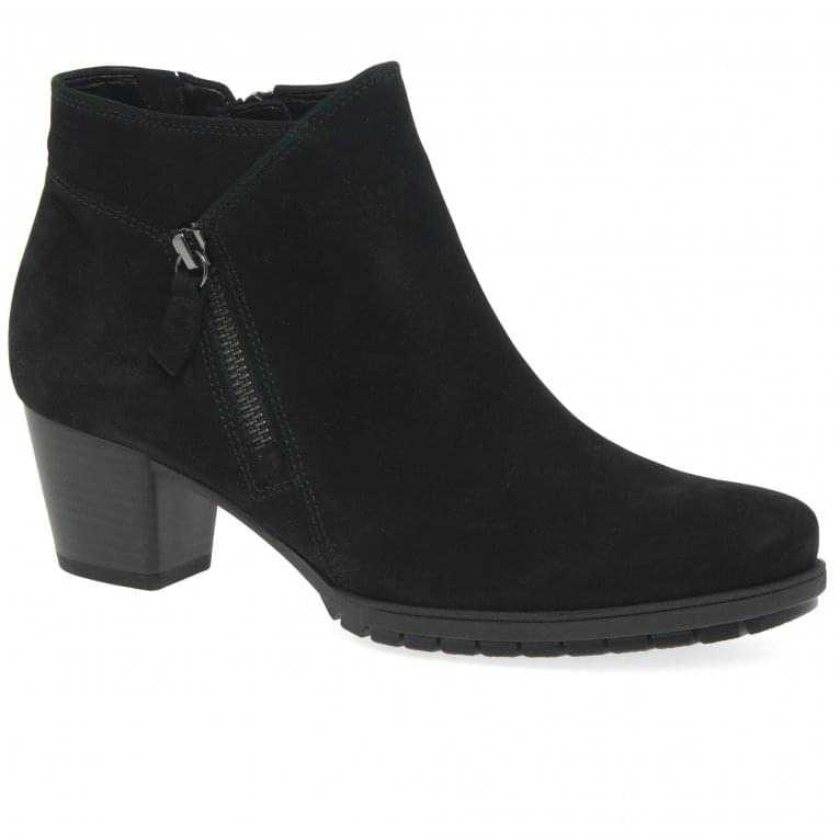 Gabor Olivetti Ladies Modern Zip Fastening Ankle Boots