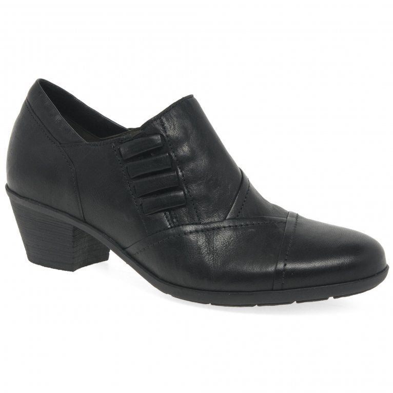 Gabor Maria Ladies High Cut Leather Court Shoes