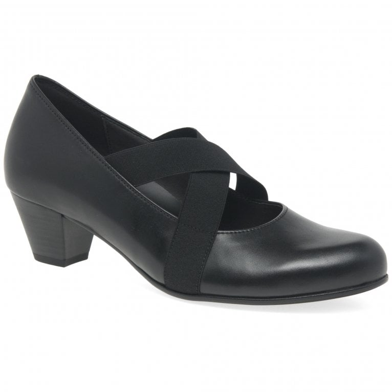 Marley Ladies Casual Cross Strap Court Shoes