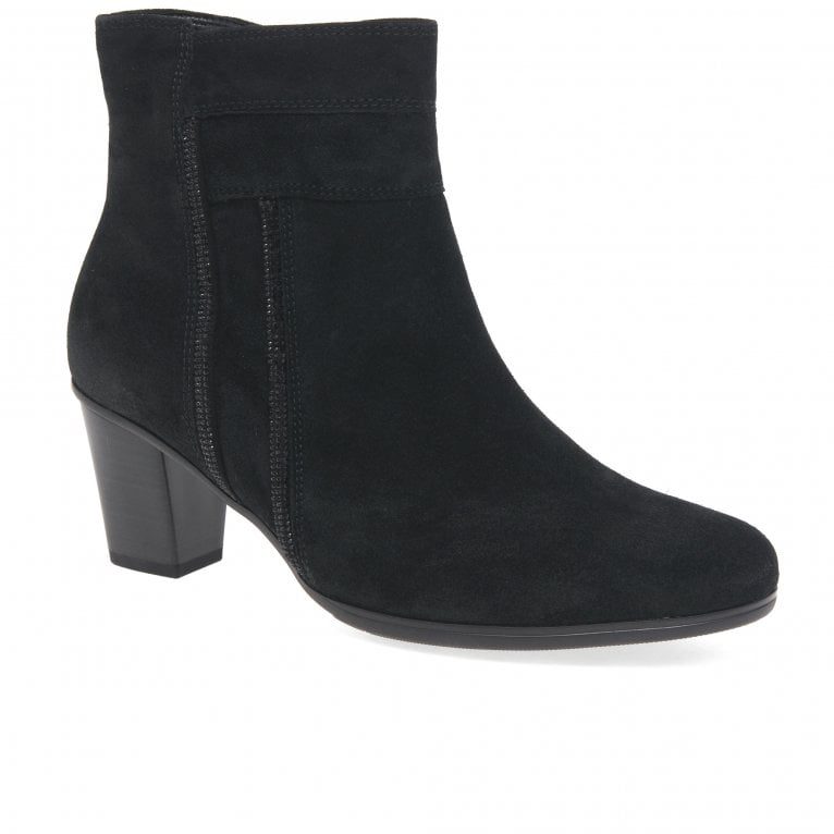 Gabor Shirley Ladies Suede Ankle Boots
