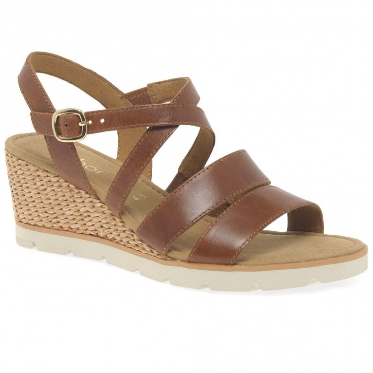 Gabor Protect Ladies Wedge Heel Sandals