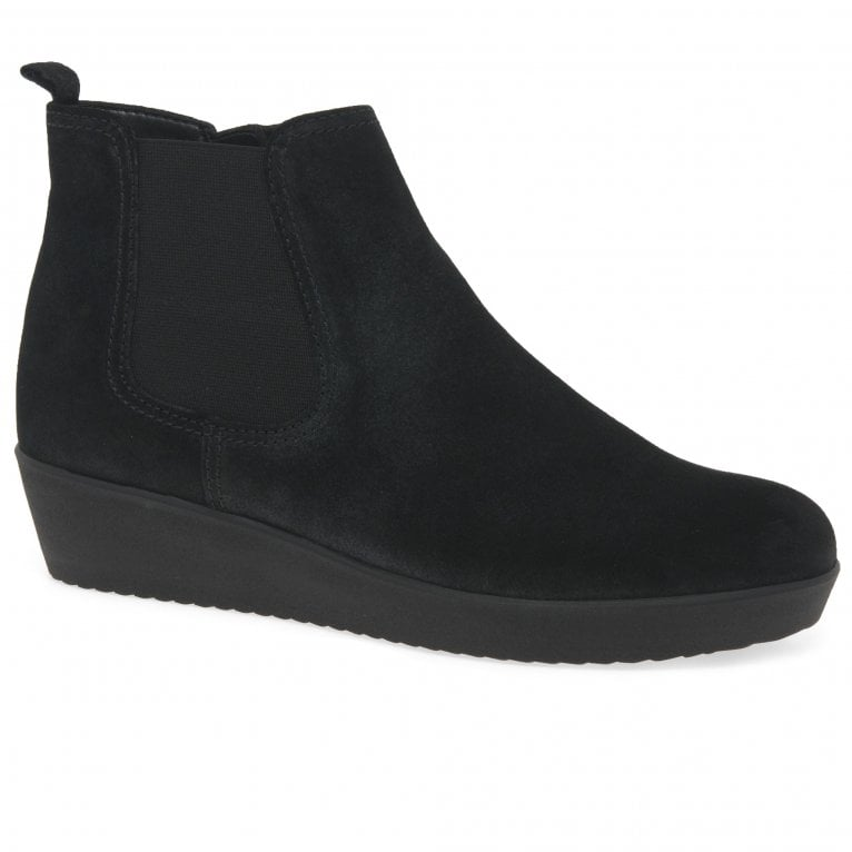 Gabor Ghost Ladies Wedged Ankle Boots