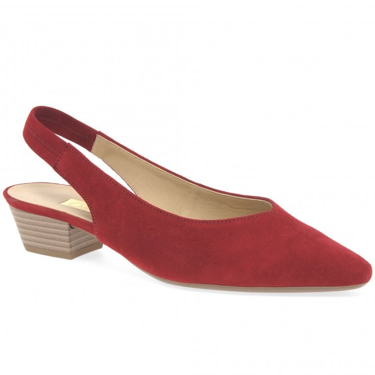 Heathcliff Womens Slingback Court Shoes