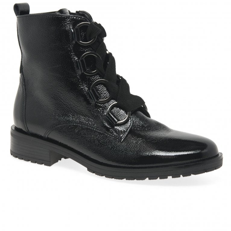 Gabor Tooreen Ladies Military Style Ankle Boots | Gabor Shoes