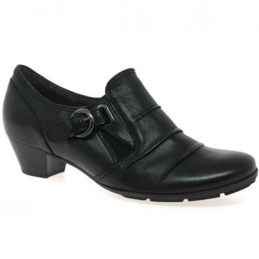 Bassey Ladies Hight Cut Court Shoes