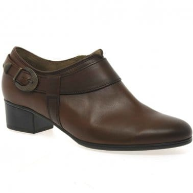 Beamish Ladies High Cut Court Shoes