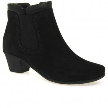 Sound Womens Zip Up Ankle Boots