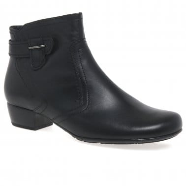 Bea Ladies Classic Wide Fit Ankle Boots