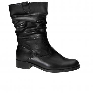 Trafalgar Wide Fit Rouched Ankle Boots