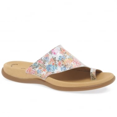 Lanzarote Ladies Printed Mules