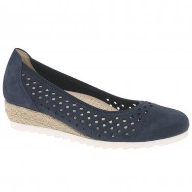 024f5ddfeb8 Evelyn Womens Low Wedge Heel Shoes · Gabor Evelyn Ladies ...