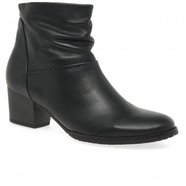 new style look for discount Gabor Capri Ladies Chunky Buckle Detail Ankle Boots | Gabor Shoes