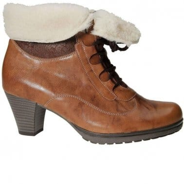 Cosmic Ladies Leather Lace Up Boots