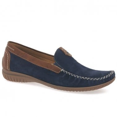 California Womens Leather Moccasins
