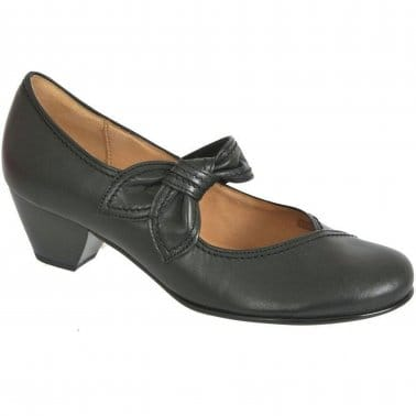 Henrietta Knotted Strap Womens Court Shoes