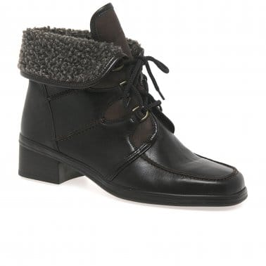 Rayce Ladies Warm Lined Ankle Boots