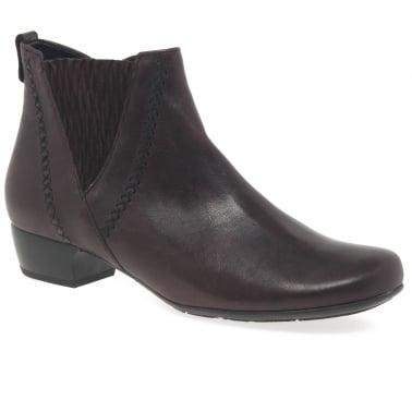 Betide Ladies Modern Wide Fit Ankle Boots