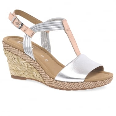 Jess Ladies Casual Wedge Heel Sandals