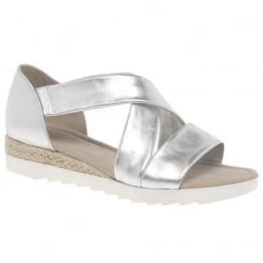798c99616 Promise Womens Sandals. Silver