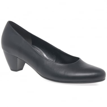 Whitaker Ladies Wide Fit Court Shoes