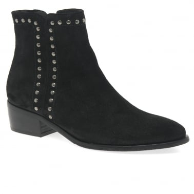 Boots for Women, Booties On Sale, Black, Leather, 2017, 2.5 3.5 4.5 5.5 6.5 7.5 Off-white