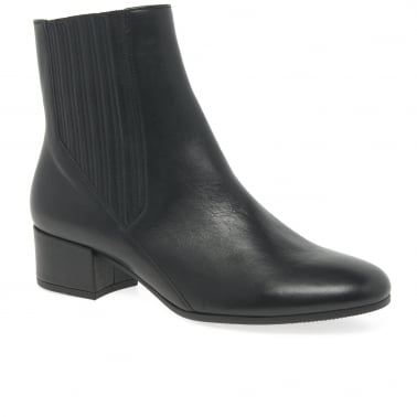 Canvey Womens Modern High Cut Ankle Boots