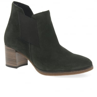Elsa Womens Suede Ankle Boots