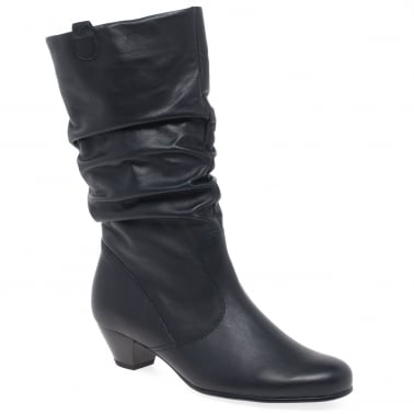 bb70298c3fc Rachel Leather Wide Fitting Boots · Gabor Rachel Leather Wide Calf Boots