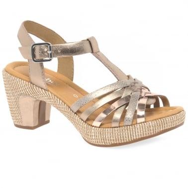 10f6bf84187672 Cheri Womens Sandals