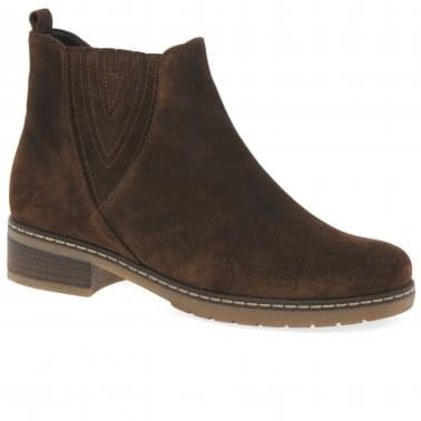 27b47ea72d35 Dorothy Womens Casual Suede Chelsea Ankle Boots