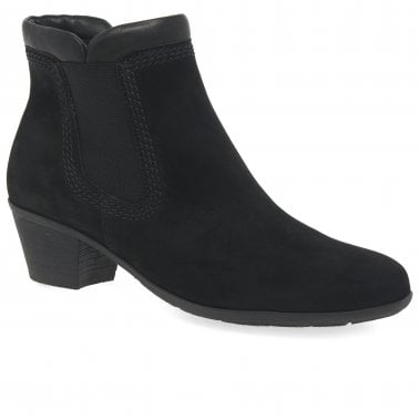 5923b3ddc929 Sound 2 Womens Zip Leather Top Chelsea Boots