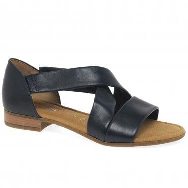 Womens Blue Sandals | Ladies Navy Blue