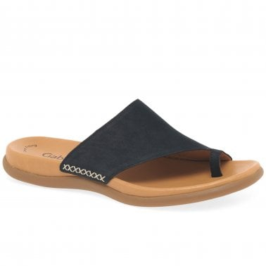 Lanzarote Toe Loop Womens Mules
