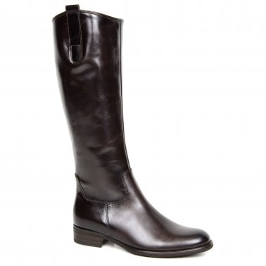 Brook M Womens Medium Calf Fitting Long Boots